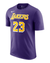 Los Angeles Lakers LeBron James Hollyw23d T-Shirt - Black