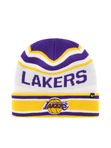 Los Angeles Lakers Primary Logo Cuff Knit Hat