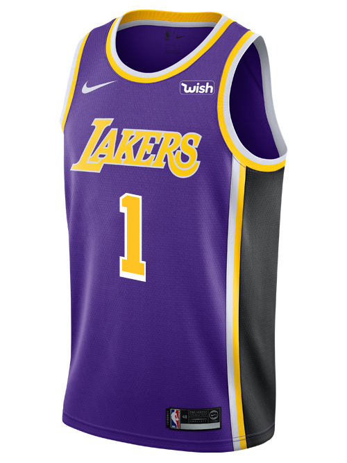 Los Angeles Lakers Kentavious Caldwell-Pope 2018-19 Statement Edition Swingman Jersey