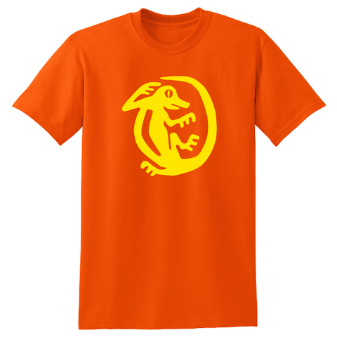 Orange Iguanas Legends of the Hidden Temple Shirt