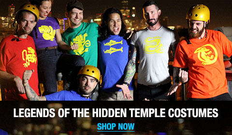 Legends of the Hidden Temple Shirts and Costumes