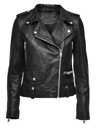 MDK Seattle New Black Leather Jacket