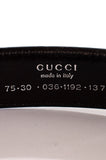 Gucci logo buckle leather belt - XS [20% OFF] - OWN THE COUTURE
