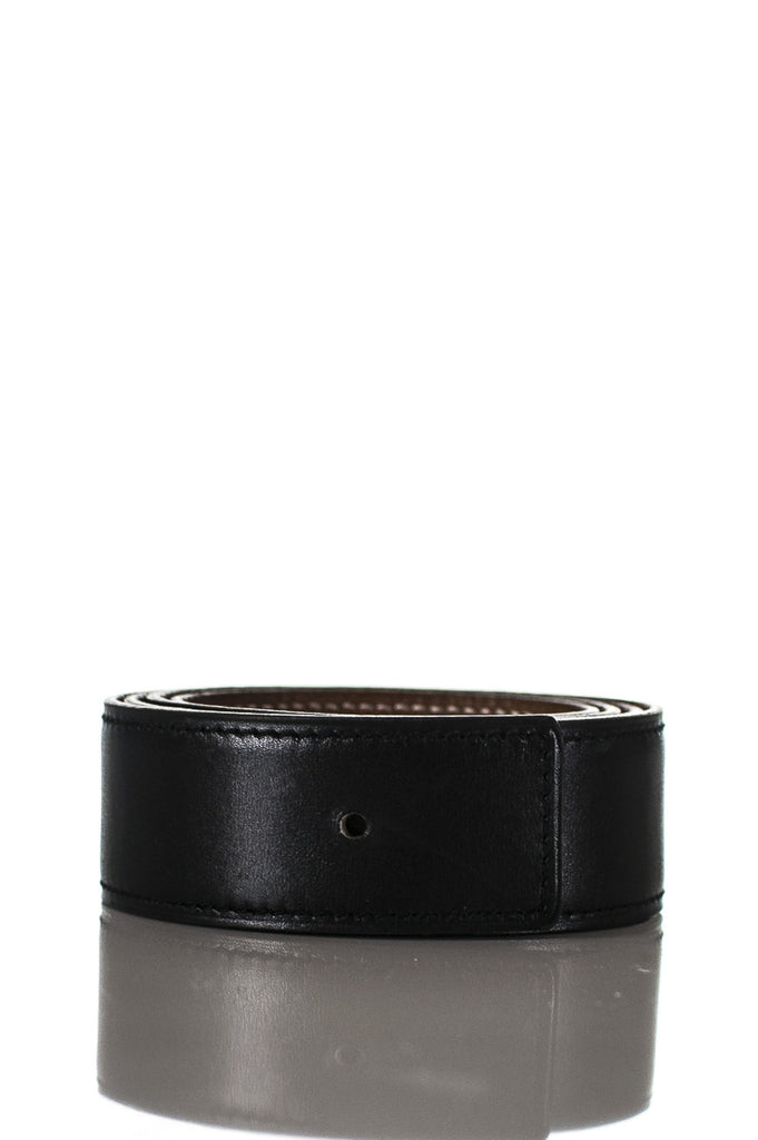 Hermès reversible leather belt strap - XS - OWN THE COUTURE