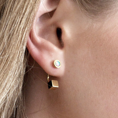 Modern Cube Earrings
