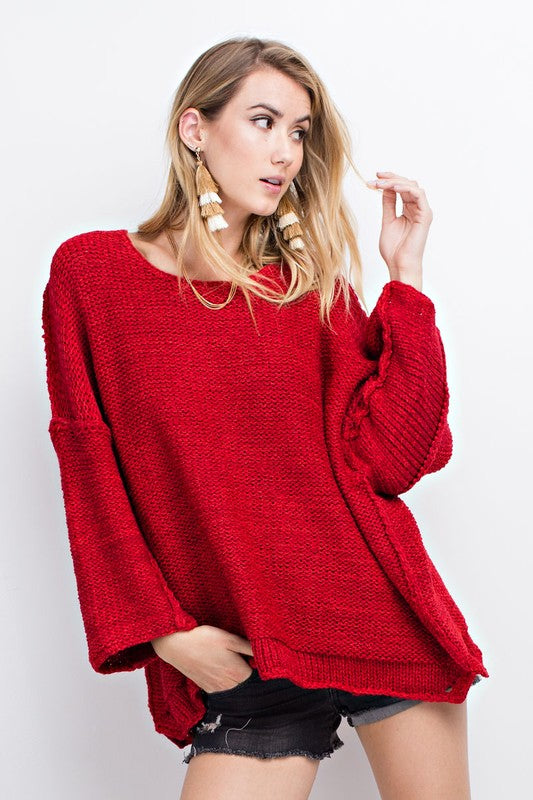 Red Delicious Sweater