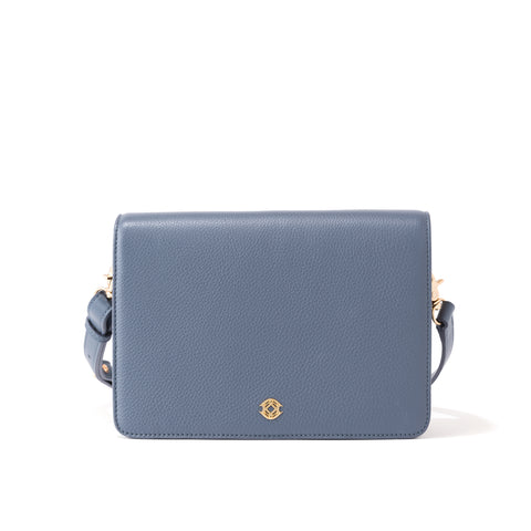 Andra Crossbody - Ash Blue - Medium