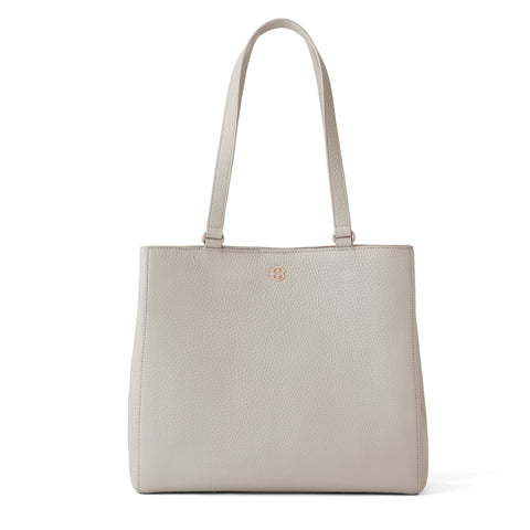 Allyn Tote - Bone - Medium