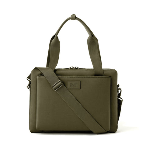 Ryan Laptop Bag - Dark Moss - Large