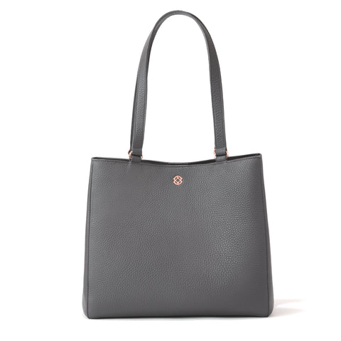 Allyn Tote - Graphite - Medium