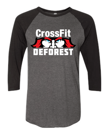CrossFit Deforest Baseball Tee-Boxstar Apparel
