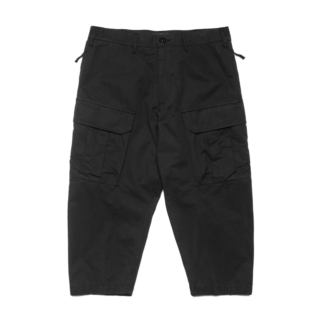 SP Cropped Cargo Pant 701930409 Black