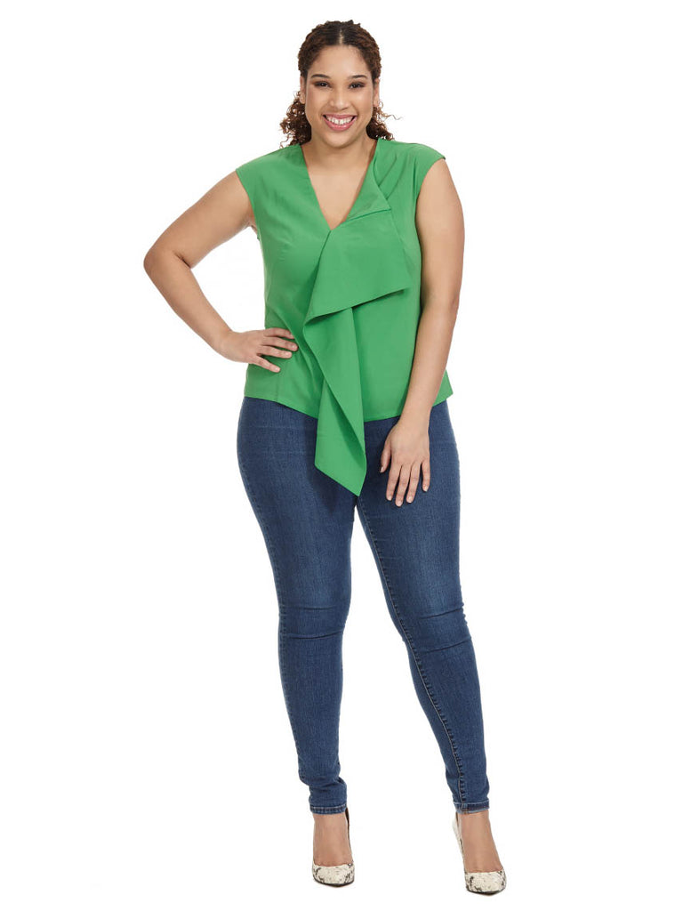 Elizabeth Top In Green