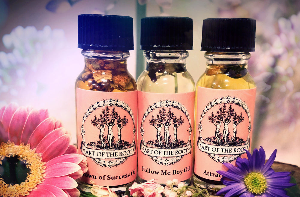 How to use Wiccan Oils, Conjure Oils & Ritual Oils with Simple Recipes