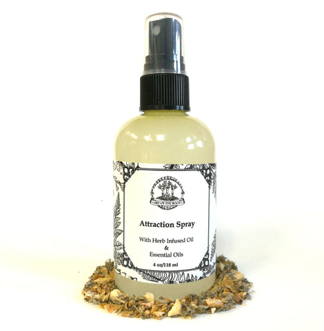 Attraction Spray for Prosperity, Abundance, New Opportunities and Spellwork