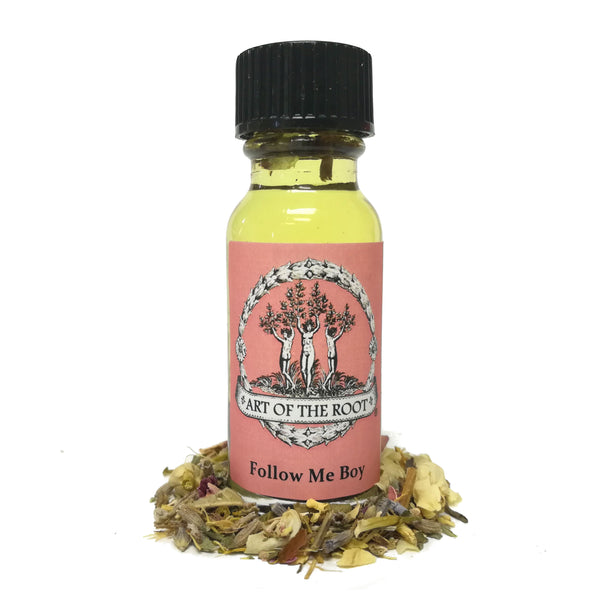 Follow Me Boy Oil 1/2 oz for Hoodoo, Voodoo, Wicca & Pagan Rituals