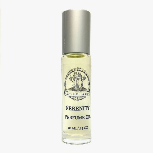 Serenity Roll-On Perfume Oil for Anxiety, Stress, Restlessness & Tension