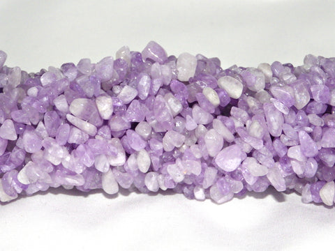 Light Amethyst Chip Beads