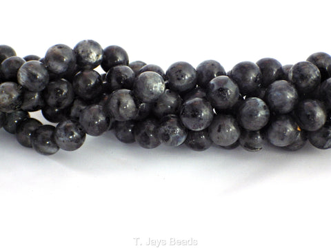 Larvikite Beads - 10mm