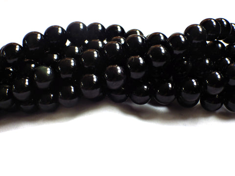 10mm Rainbow Obsidian Round Beads