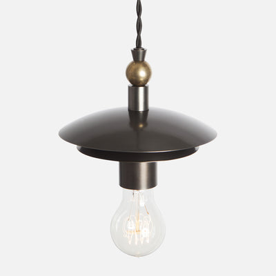 Brancusi Double Dome Pendant Light - View 3