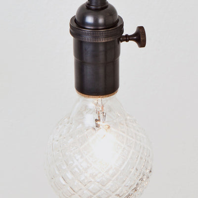 Industrial Spring Pendant w/ Switch Socket Detail