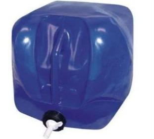 Blue 5 Gallon Water Fold-A-Carrier (BPA Free)