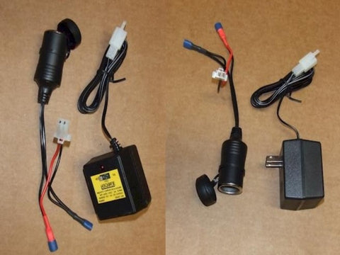 12volt Battery Charger & Battery Power Connector Kit