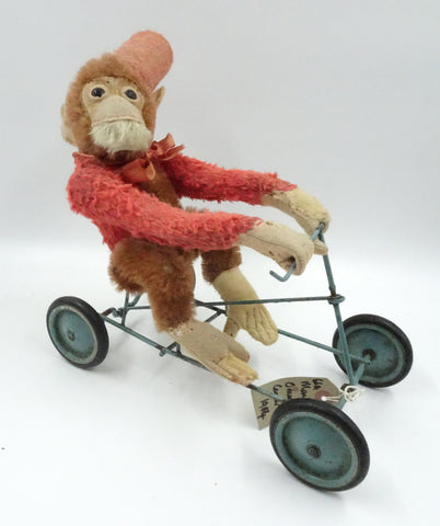 (1914) Fadap Coaster Toy. Monkey