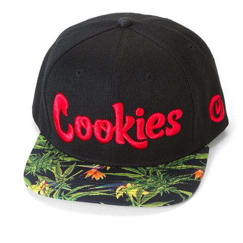 Birds Of Paradise Embroidered Snapback