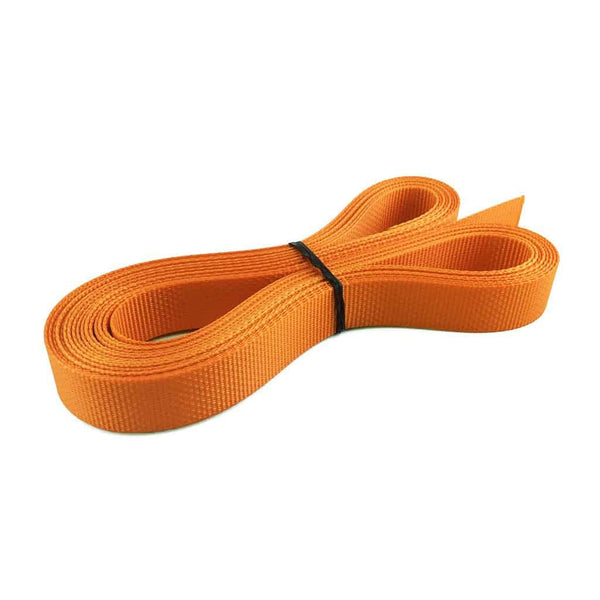 "1"" Polyester webbing 1500 lb - Colors, Burnt Orange"