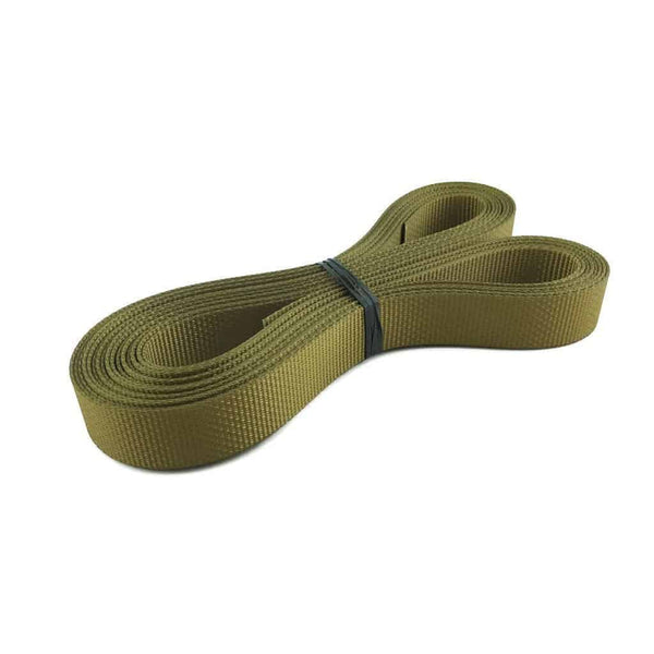 "1"" Polyester webbing 1500 lb - Colors, Olive Drab"