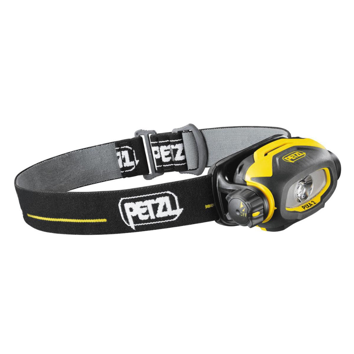 Petzl Pixa 2 Headlamp Black Yellow