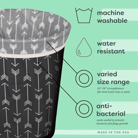 Planetwise Reusable Trash Can Liner