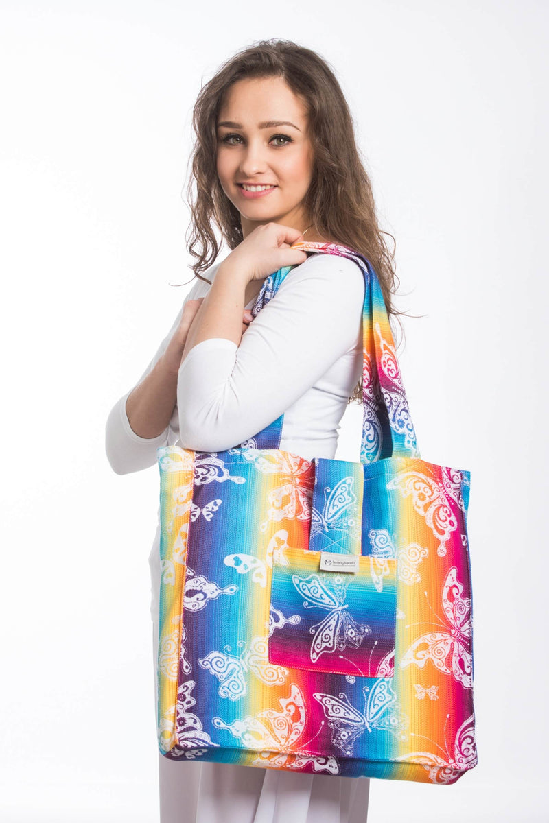 Lenny Lamb Butterfly Rainbow Light Shoulder Bag