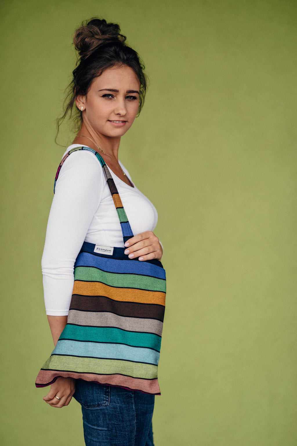 Lenny Lamb Carousel of Colors Shopping bag