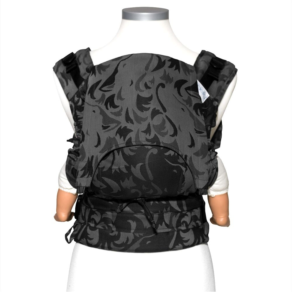 Fidella Classic Wolf Anthracite Fusion Soft Structured Carrier