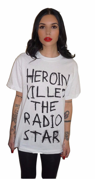 Heroin Killed The Radio Star T-Shirt