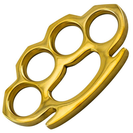 Mirror Finished Gold Knuckles-Knockout Knucks