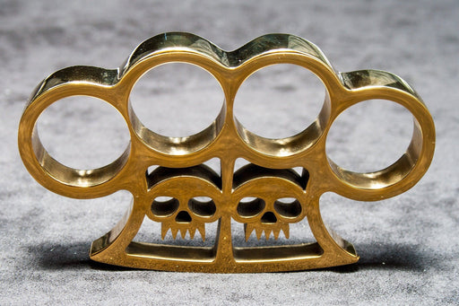 Slash and Burn Brass Knuckles-Knockout Knucks