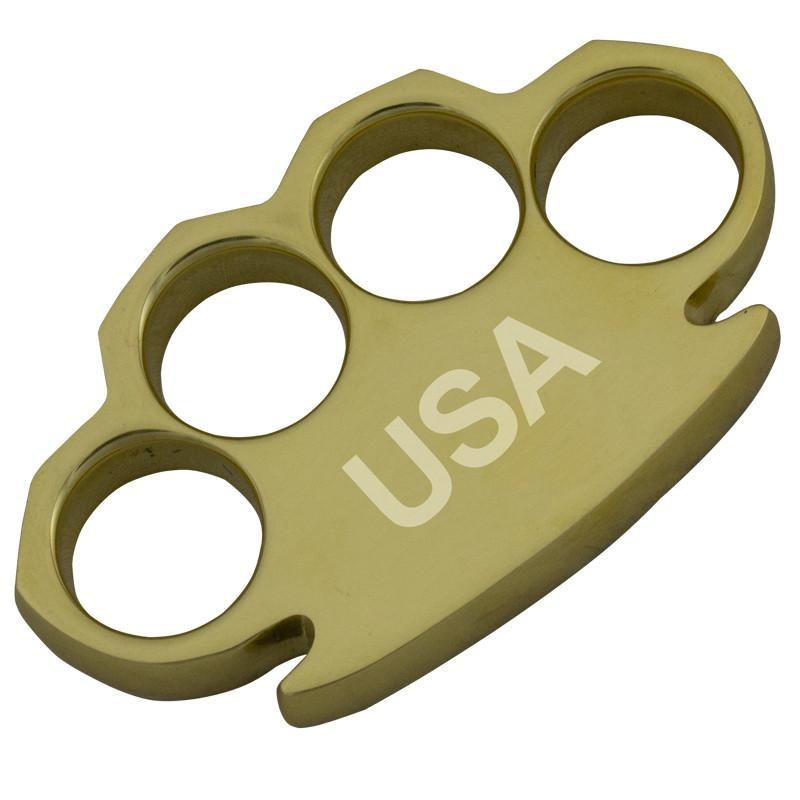 USA Knuckles - Made of Real Brass-Knockout Knucks