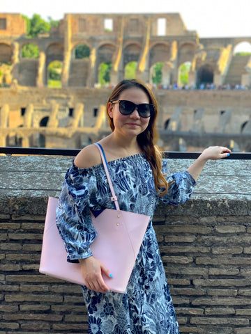 Roman Colosseum - Handbag Designer Stacy Chan