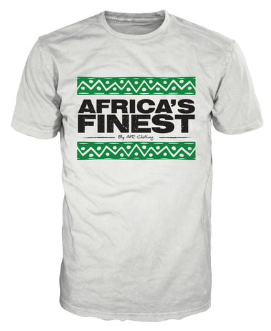 Africa's Finest White T-Shirt