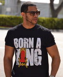 Born A King Black Tee