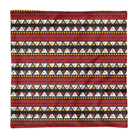Ankara Print Square Pillow Case only