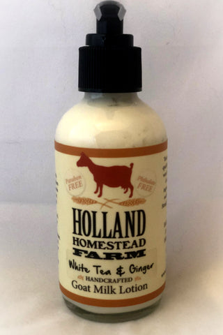 Glass Goat Milk Lotion 4 ounce