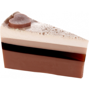 Bomb Cosmetics Chocolate Heaven Cake Slice