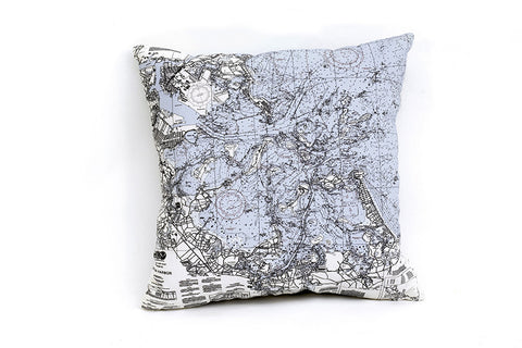 Boston Harbor Indoor/Outdoor Pillows