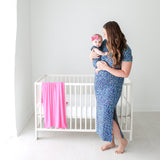 Lana Leopard Mommy Maxi Dress