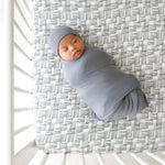 Stone Gray Swaddle Set